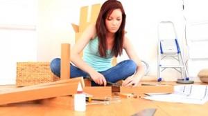 monter une etagère en bois
