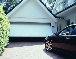 installation d'une porte pour garage
