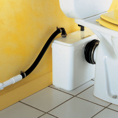 Installer un sanibroyeur le roi de la bricole - Comment installer un wc broyeur ...