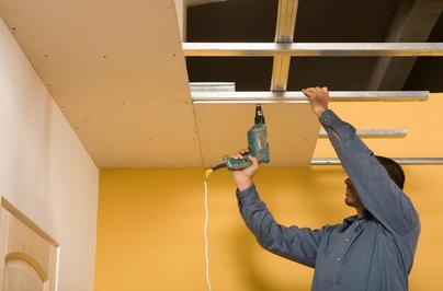 Monter Un Faux Plafond Dans Une Piece Le Roi De La Bricole