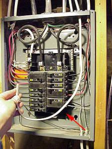 Installation du boîtier électrique