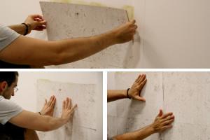 Fixer un liège sur un mur