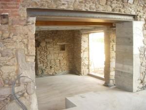 Réaliser une ouverture dans un mur porteur