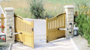 installer un portail en bois
